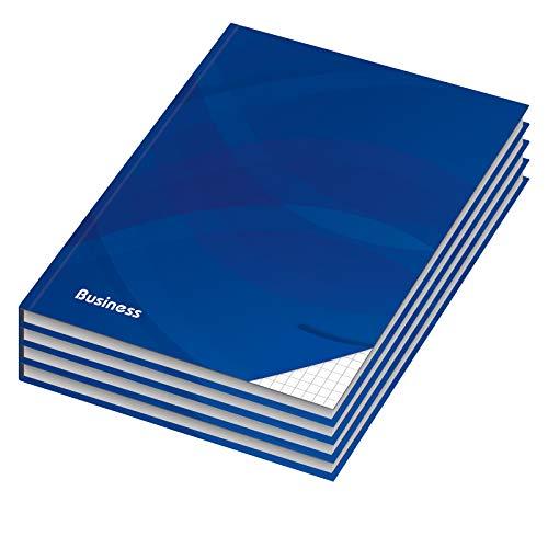 4er Pack Notizbuch / Kladde kariert
