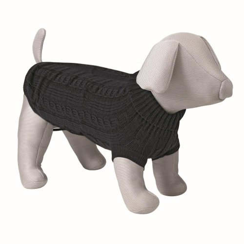Trixie Hundekönig Pullover, S: 35 cm, schwarz