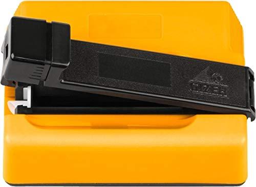 Zigarettenstopfmaschine Gizeh Tip Star aus Kunststoff in gelb schwarz