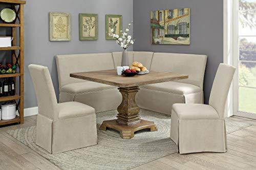 William's Home Furnishing Nerissa Table, Rustic Oak Finish