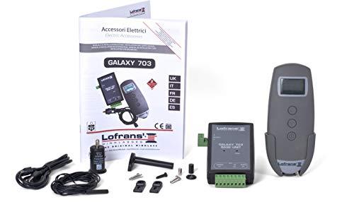 12 Volt Lofrans Galaxy 703 Ankerwinden Kettenzähler LCD Funk-Fernbedienung
