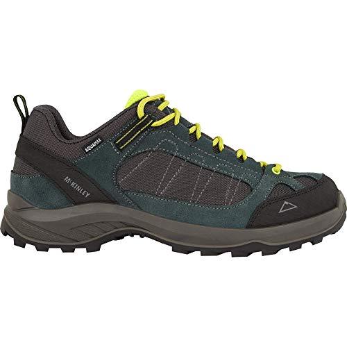 McKINLEY Herren Travel Comfort AQX Leichtathletik-Schuh, Anthracite/Green Fo, 44 EU