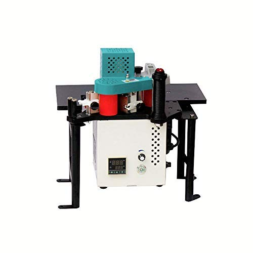 YUCHENGTECH Woodworking Edge Bander Banding Machine Upgrade Portable Edge Bander Curve Straight Edge Banding Machine With Speed Control 0.5~5m/min(110V)
