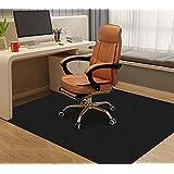 床保護マット160×140cm チェアマット ゲーミングチェアマット デスクマット カーペット椅子マット フロアマット 傷防止 フローリングマット 滑り止め吸音 足元マット カット可能