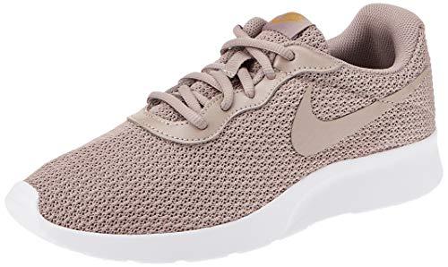 Nike Damen WMNS Tanjun Leichtathletikschuhe, Mehrfarbig (Pumice/Pumice/Dark Citron 000), 39 EU