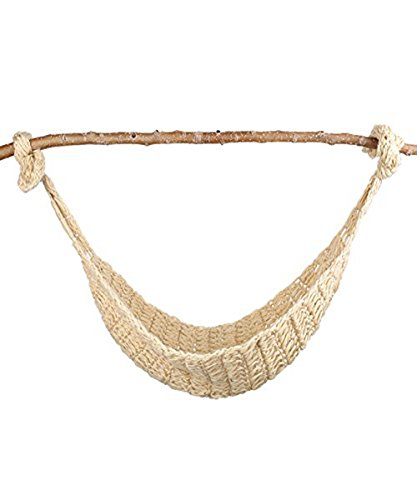 UOMNY Baby Newborn Photography Props Hammock Handmade Crochet Knitted Unisex Baby Outfit Photo Prop Baby Photography(Picture: Tree Branches not Included)