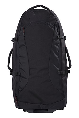 Mountain Warehouse Voyager 50L Wheelie Backpack - for Traveling Black