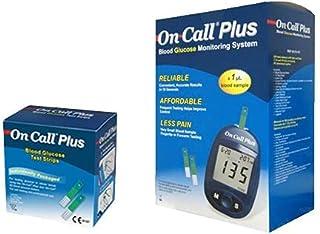 جهاز أون كول بلس لقياس نسبة السكر في الدم مع 50 شريحة قياس