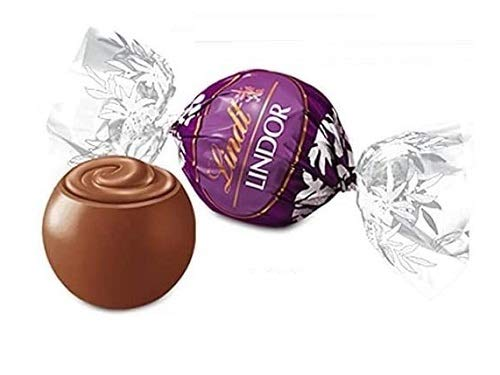 Praline Lindor guscio di cioccolato al latte morbido ripieno alla mandorla 500 gr Lindt senza glutine