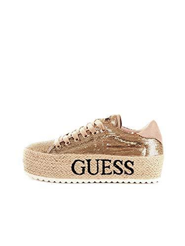 Guess - Baskets or avec sangle 38