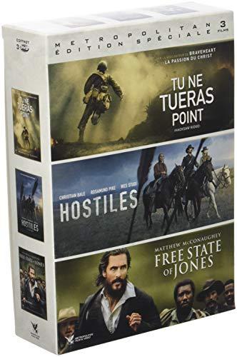 Aventure : Tu ne tueras point + Hostiles + Free State of Jones [Francia] [DVD]