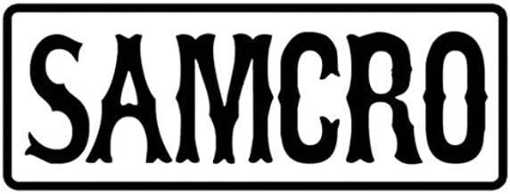 Sons of Anarchy Patch~ Officially Licensed Embroidered Patch (SAMCRO)