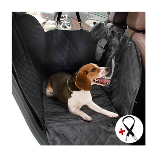 Sitzbezug des Autos für Haustier, verschleißfester Bezug des Hintersitzes für Haustier, ausgerüstet mit Anker und rutschfestem Gummibodenbezug Hunde Autoschondecke Hundedecke für Auto Rückbank (L)