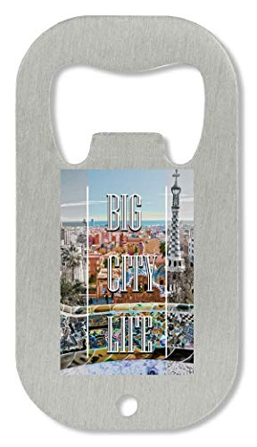DD Life | Series | Barcelona Town | Popular Words | Osom Quotes | Cool T-shirt | Nice to | Super | Mooie Landscape flesopener