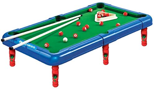 LHY Billard Spielzeug Erwachsene und Kinder Mini Billardtisch Kleiner Kombination Tischtisch für Indoor Entertainment zwischen Freunden und Kollegen Tragbaren und interaktiven Ballspielzeug Mini