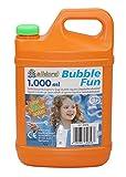 alldoro- Bubble Fun-Liquido tanica da 1200 ml, per Acqua 1,2 l, XL, Ricarica per Bolle di Sapone Colorate e Grandi, per Bambini, Adulti, Feste ed Eventi, Colore: Arancione, 60656