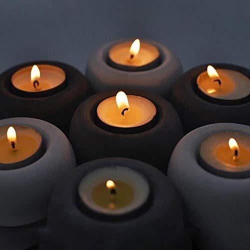 UIXIYIMG Moule en Silicone Chandelier béton Pot de Fleur Moule bougeoir Outil Outil succulente Pot Moule Chocolat Moule Maison Artisanat décorations
