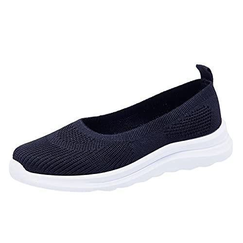 Femmes Chaussures, Chaussures de Sport Running Basket Chaussures de Running sur Route Outdoor Course Fitness Respirantes Sneakers