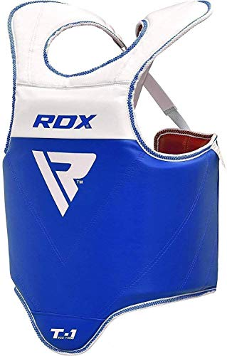 RDX TKD Chest Guard Boxing MMA Body Protector Reversible Martial Arts Taekwondo Rib Shield Armour Training Kickboxing Target