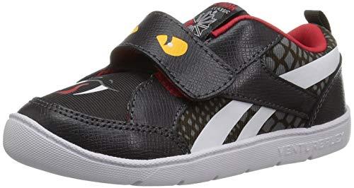 Reebok Baby Ventureflex Chase Ii Sneaker, Snake-Coal/Alloy/Primal r, 9 M US Toddler