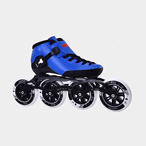 UYBAG Outdoor Speed Skating Shoes for Men and Women Children's Professional Carbon Fiber Roller Skates 4 90/100/110mm Wheels Inline Skate Shoes The Best Gift for Beginners,33
