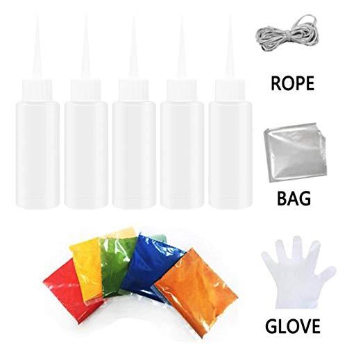 Easy-topbuy Kit Tie Dye Pinturas para Tejidos Y Telas Tintes para Tejidos Pintura Textil para Ropa, Sombreros, Zapatos, Bolsos, No Tóxico