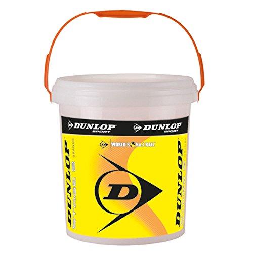 Dunlop Mini Tennis Stage 2 Orange, 60er Plus Eimer