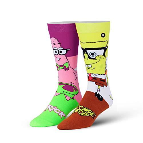 ODD SOX Adult Spongebob und Patrick Premium Knit Standard
