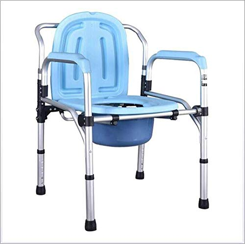 RRH-Bathroom Wheelchairs Bedside Commodes Wheelchairs Bedside Commodes Adjustable Height Bath Shower Toilet Seat Medical Aid Rehab Chair Elderly ,Handicap Use As Stand Alone or with Toilet Chair Commo