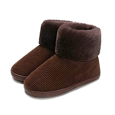 Amazon - Save 65%: Blebeey Women's Cozy Fluffy Bootie Slippers Memory Foam Comfy Ho…