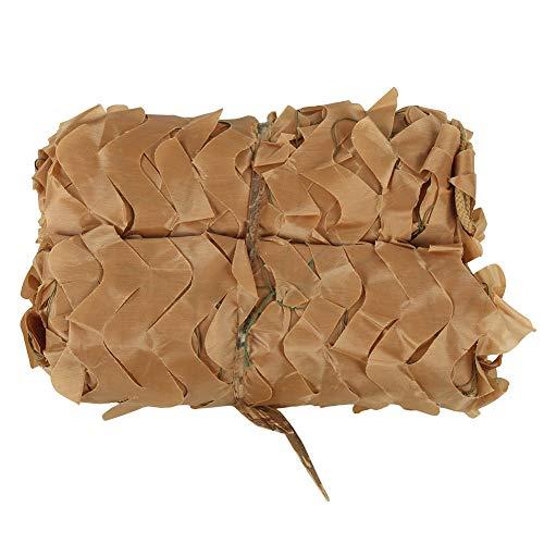 Utomhusnät, mörkläggningsgardiner för skogsmark, vit/brun/grå/kamouflage nät för solskydd campingjakt (brun 3 * 4)