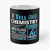 Genius Chemistry Design Broma barato mejor humor mejor taza de café de cerámica de 315 ml Eat Food Bite John Best Taza de café de cerámica de 315 ml