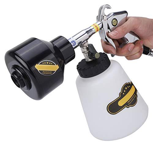 Pistola de limpieza de coche de aire, pistola de limpieza neumática de alta presión de limpieza de 1000 ml, para neumáticos de(European connector)