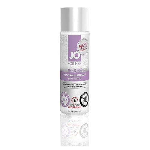 System JO Warming Agape Lubricant, 2 Fluid Ounce