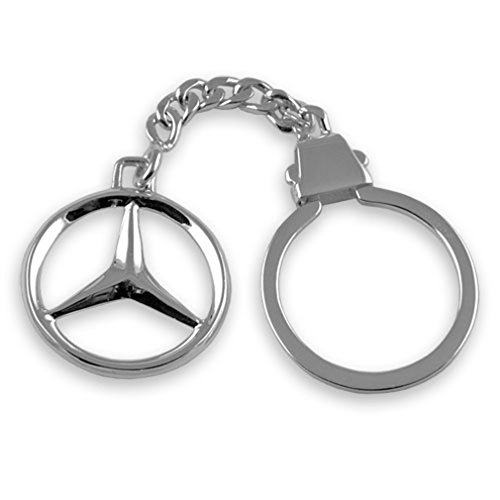 Select Gifts Porte-clés Mercedes argent sterling