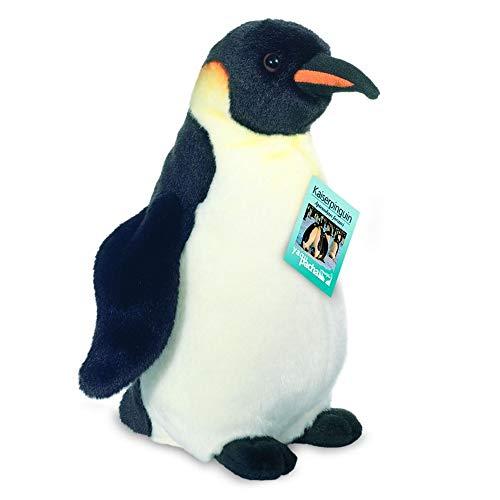 Teddy Hermann 90032 Kaiser-Pinguin 30 cm, Kuscheltier, Plüschtier, Sonderedition yaqu Pacha