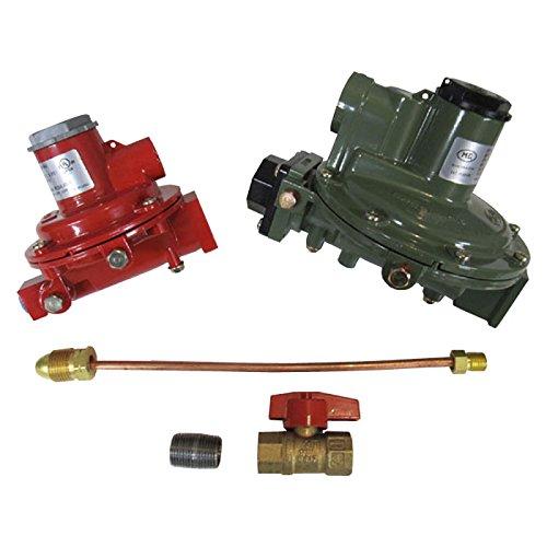 Marshall Regulator Home Propane Supply Kit LP 1122H-AAJ 1622-BCF 1/2' Outlet
