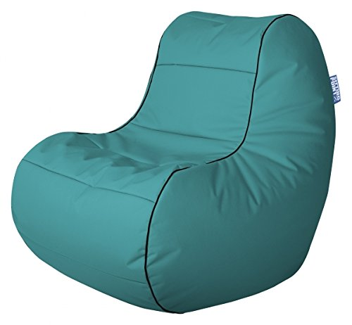 SITTING POINT only by MAGMA Sitzsack Scuba Chilly Bean Petrol (Outdoorgeeignet)