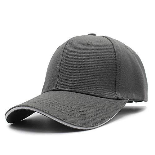XNSW Gorras de béisbol de Mujer para Hombre Gorras de Color Liso Liso Sombreros Moda papá Cap-4
