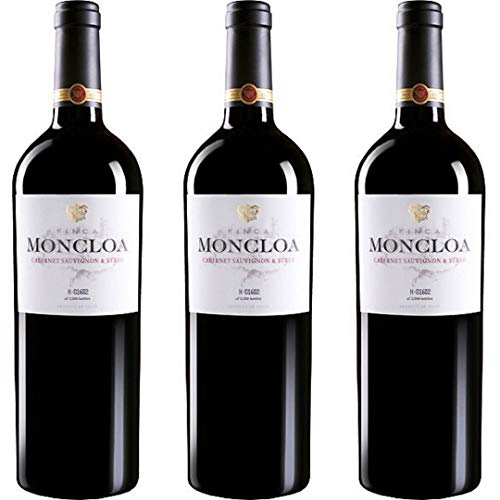 Finca Moncloa Vino Tinto - 3 botellas x 750ml - total: 2250 ml