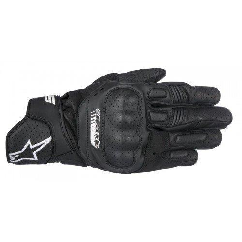 Alpinestars Handschuhe SP-5 Leder Motorrad Sporthandschuh schwarz Größe L / 9