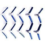 Juego de púas para candado y accesorios para abrir, herramienta profesional de cerrajería (10 unidades)
