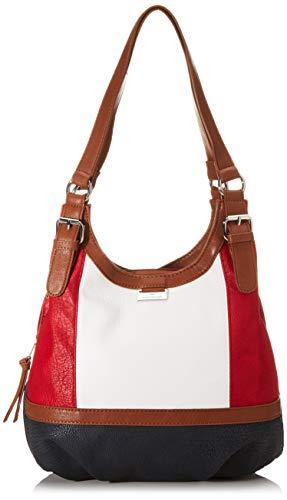 TOM TAILOR bags JUNA Damen Shopper M, mixed maritim, 31x14x29