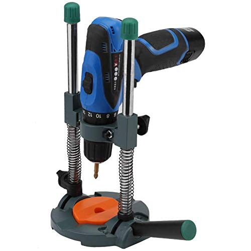 Buy Discount YH-KE Electric Drill Holder Guide, Adjustable Multi-Angle Profession Drill Stand for Dr...