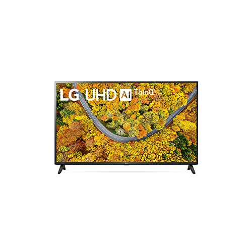 2021 Smart TV LG 43' 4K UHD 43UP7500 WiFi Bluetooth HDR ThinQAI compatível com Inteligência Artificial