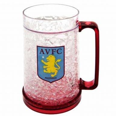 Official Aston Villa Crest Freezer Tankard