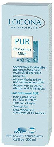Logona Bio PUR Reinigungsmilch (2 x 200 ml)