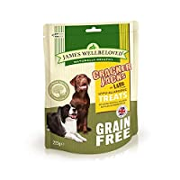 No artifical colours, flavourings or preservatives No beef, pork, wheat, gluten or dairy products Natural dog treats Foil packs to keep treats fresh and re-sealable Available in different flavours