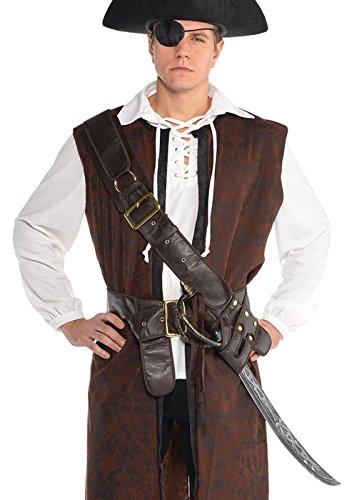 Magic Box Cinturón Bandolero de Hombre Pirata