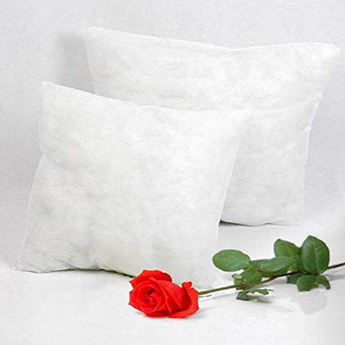 Cojín sólido núcleo Cabeza Cintura Almohada Interior PP Relleno de algodón Relleno de cojín, Blanco, 60x60cm